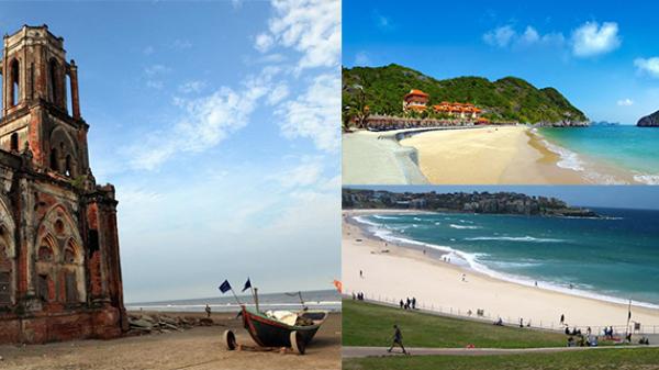 Xua tan nắng hè với những bãi biển đẹp ngất ngây ở Nam Định