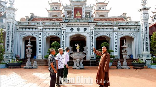 Nam Định: Những ngôi chùa ở Giao Thủy và những điều không phải ai cũng biết