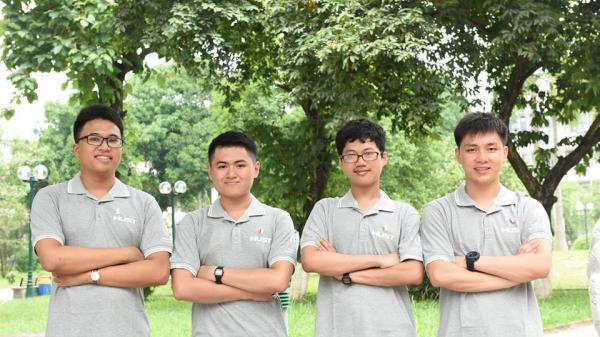 4 chàng trai vàng đến ĐH Bách khoa Hà Nội nhập học