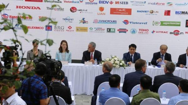 Hà Nội vừa chính thức ký hợp đồng tổ chức giải đua F1 trong 10 năm