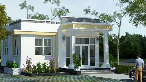 10 mẫu nhà mái bằng ở nông thôn vừa rẻ vừa đẹp lại hiện đại