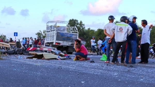 Quảng Nam: Kinh hoàng tai nạn liên hoàn gây ch.ết người ở Phú Ninh