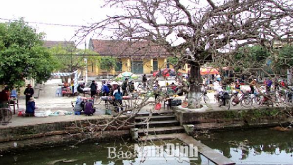 Nam Định: Nét đẹp văn hoá các phiên chợ quê