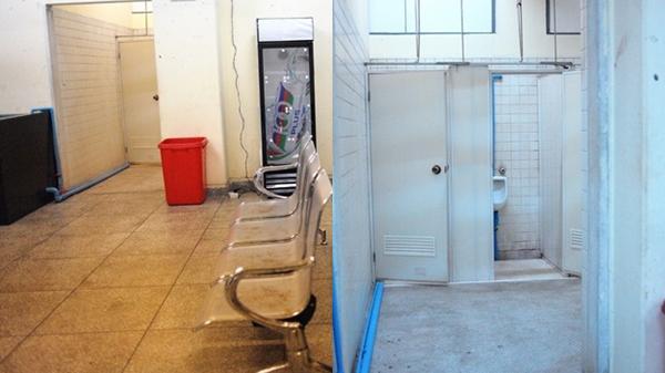 Phòng thay đồ của đội tuyển Việt Nam ở Myanmar: Nhà vệ sinh bốc mùi, ghế ngồi rỉ sét