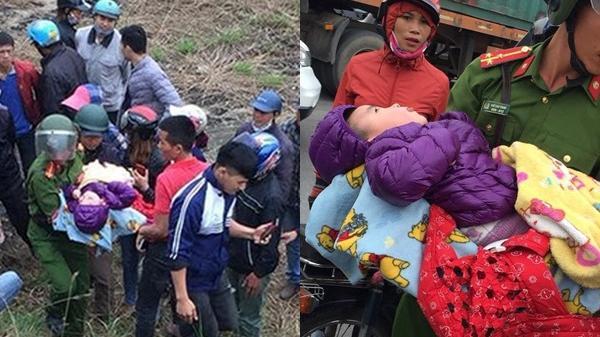 Bé trai 3 tuổi bị bỏ rơi nằm th.oi th.óp dưới chân cầu