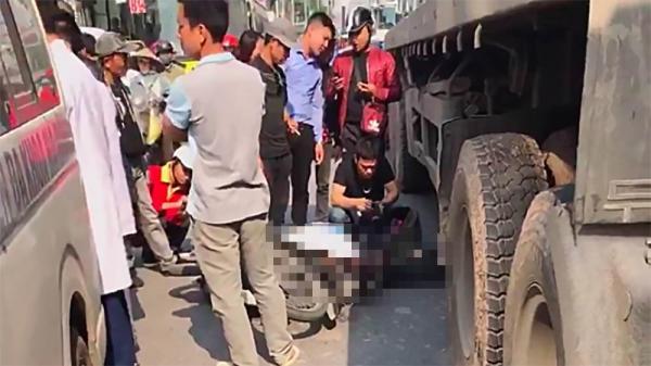 Xót xa: Nam thanh niên Nam Định t.ử n.ạn dưới gầm xe container trên đường Hà Nội