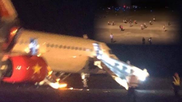 Máy bay Vietjet gặp t.ai n.ạn nghiêm trọng: 2 bánh trước bị m.ất trong quá trình hạ cánh, hành khách h.o.ảng l.o.ạn, nhiều người bị th.ư.ơ.ng