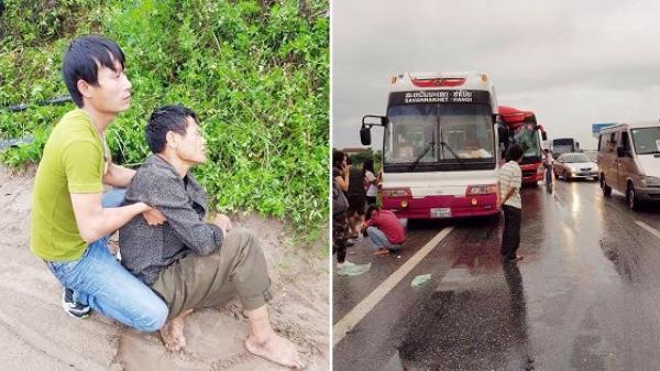 Tai nạn xe khách trên cao tốc Pháp Vân, hơn 10 người bị thương