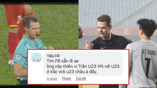 """Chưa hết trận đấu, CĐM đã tìm ra info của trọng tài """"quen mặt"""" từng gây khó dễ cho tuyển Việt Nam"""