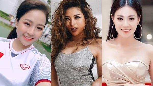 """Chung kết AFF CUP: """"Lan c.a.ve"""", hotgirl Trâm Anh, Hoa hậu Đông Nam Á phấn khích """"tiếp lửa"""" cho thầy trò HLV Park Hang Seo"""