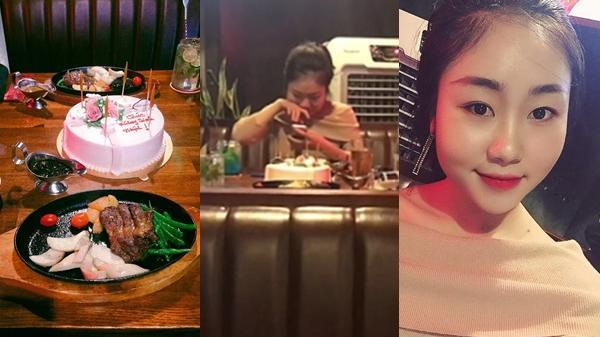 Cô gái xinh khóc nức nở, phá nát bánh kem khi tổ chức sinh nhật cho bạn trai nhưng bị 'leo cây'