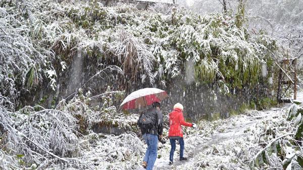 Dự báo thời tiết ngày 1/1/2019: Không khí lạnh bao trùm, Biển Đông sắp có bão ngay năm mới