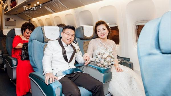 Chị ruột cô dâu trong đám cưới 'khủng' 100 cây vàng từng rước dâu bằng máy bay