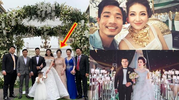 Cô dâu 'đeo vàng trĩu cổ' có chị gái xinh đẹp từng gây sốt với đám cưới rước dâu bằng siêu xe và máy bay hàng tỉ đồng