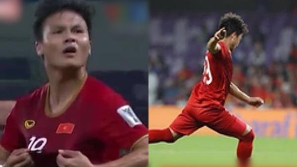 Sau cú sút phạt, Quang Hải được cả châu Á khen hết lời, ví như Messi vì quá đẳng cấp