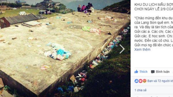 Dân mạng bức xúc khi các khu du lịch ngập rác sau kỳ nghỉ 2/9