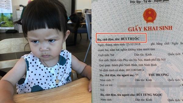 """Chồng nhậu say lên phường khai sinh cho con, vợ nhìn dòng tên """"Bùi Thị Ốc"""" chỉ muốn bật khóc"""