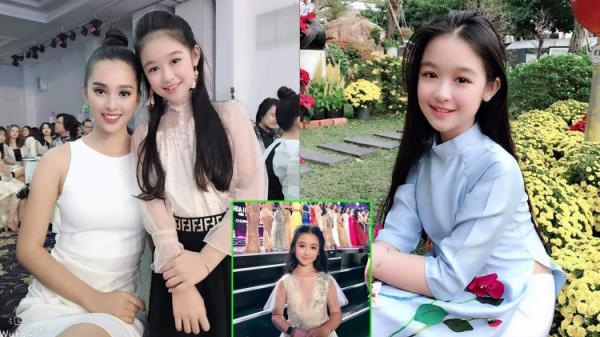 Đọ sắc Hoa hậu Tiểu Vy, bé gái khiến dân mạng nức nở: 'Không phải mỹ nhân thường đâu!'
