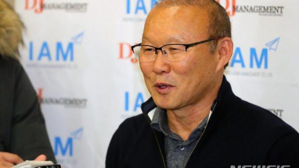 HLV Park Hang Seo nói gì về việc gia hạn hợp đồng với BĐVN?