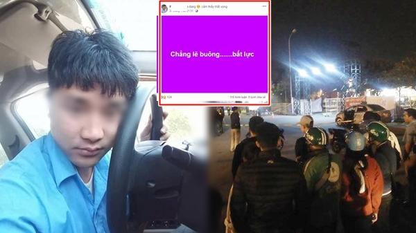 Vụ tài xế taxi nghi bị c ứa cổ ở Mỹ Đình: Dòng trạng thái Facebook lạ trước khi gặp nạn