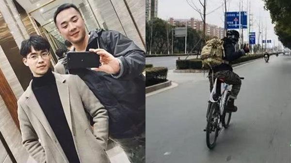 Sợ cảnh chen chúc tàu xe, nam sinh đạp xe 500km, đi hết 7 ngày để về nhà ăn Tết