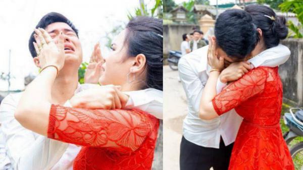 Anh trai bật khóc nức nở hết nước mắt vì em gái lấy chồng ngày cận Tết