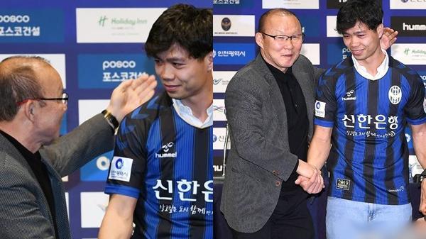 """HLV Park Hang-seo nói với báo chí Hàn Quốc: """"Công Phượng là tiền đạo tốt nhất Việt Nam"""""""