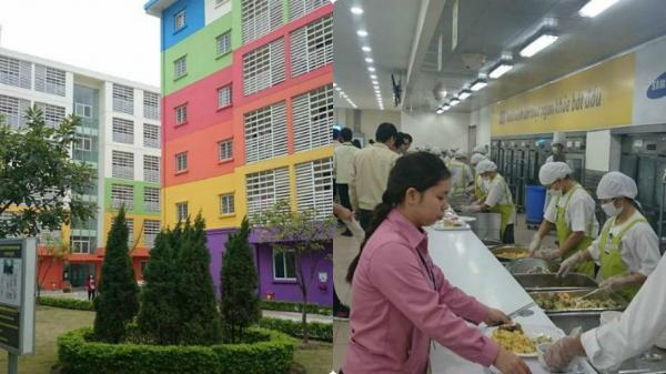 Cuộc sống trong nhà máy Samsung: Công nhân đông bằng đúng một... huyện