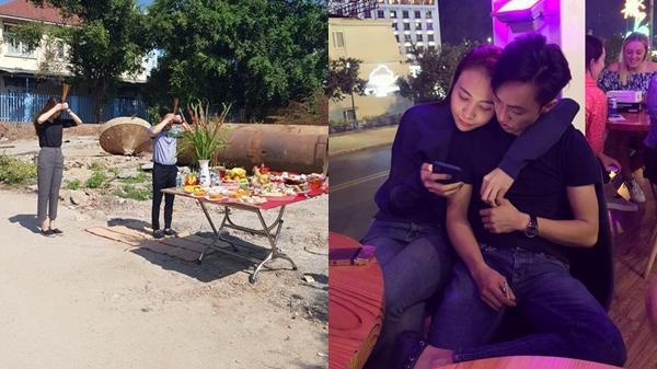 Cường Đô La - Đàm Thu Trang khởi công xây nhà đúng ngày lễ tình nhân, chuẩn bị sẵn sàng cho đám cưới