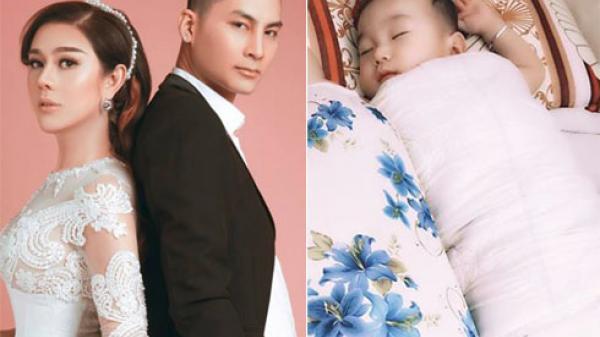 Dù sinh con trai không có liên quan máu mủ với chồng quê gốc Nam Định, Lâm Khánh Chi vẫn công khai gật gù: 'Giống bố'
