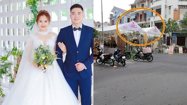 Tìm ra chủ nhân của 2 rạp cưới đặt cạnh nhau: Nhà nàng ở cạnh nhà chàng, rước dâu đi khắp thành phố