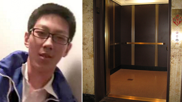 K.ẹt trong thang máy 5 tiếng, cậu học trò vẫn bình tĩnh học bài