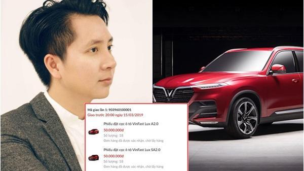 """Tìm ra danh tính 8X bạo chi 43 tỷ mua 36 xe VinFast: """"Tôi mua xe bằng tiền cá nhân"""""""