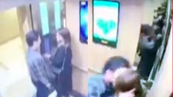 """Hé lộ danh tính """"yêu râu xanh"""" c.ưỡng é.p cô gái trẻ trong thang máy chung cư"""