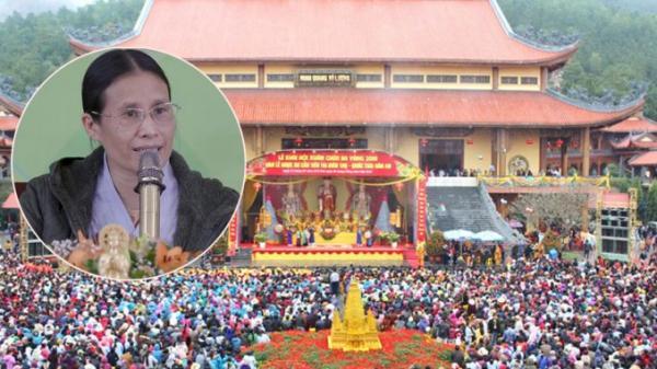 Công an, chính quyền khẩn cấp vào cuộc xử lý ngôi chùa thu hàng trăm tỉ nhờ giải v.ong báo oán