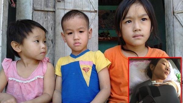 Bố ngh.iện ngập đi t.ù, mẹ ng.uy kịch vì tai nạn giao thông, 3 đứa trẻ hàng ngày ngồi đầu ngõ ngóng chờ trong nước mắt