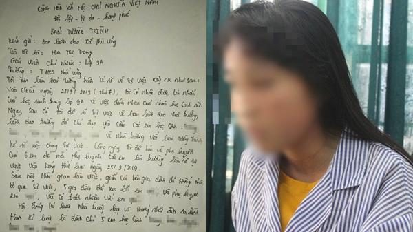 """Bức xúc với bản tường trình của cô chủ nhiệm lớp nữ sinh bị lột đồ: """"Tôi có nhận được tin nhắn về việc đánh nhau, 5 gia đình đã xin lỗi em ấy"""""""