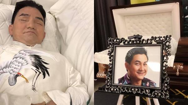 Đám t.ang nghệ sĩ Anh Vũ đang diễn ra tại Mỹ, bạn bè đồng nghiệp lặng người nói lời tạm biệt sau cùng