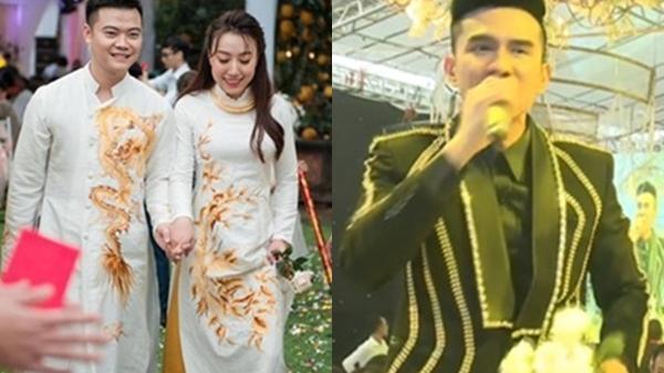 Cận cảnh đám cưới khủng: Bố giàu 'n.ứt đ.ố đổ vách' dựng rạp cưới đã 2 tỷ còn mời cả ca sĩ Đan Trường