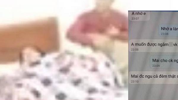 Vụ giáo viên kh.oả thân 'chữa sốt rét' cùng đồng nghiệp trong nhà nghỉ: Lộ loạt tin nhắn tình cảm, xưng vợ chồng?