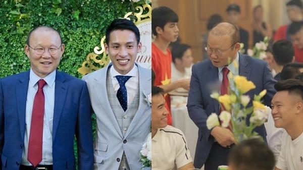 """Phan Văn Đức tặng quà cưới cực đ.ộc, """"bố"""" Park rạng ngời dự ngày trọng đại của Hùng Dũng"""