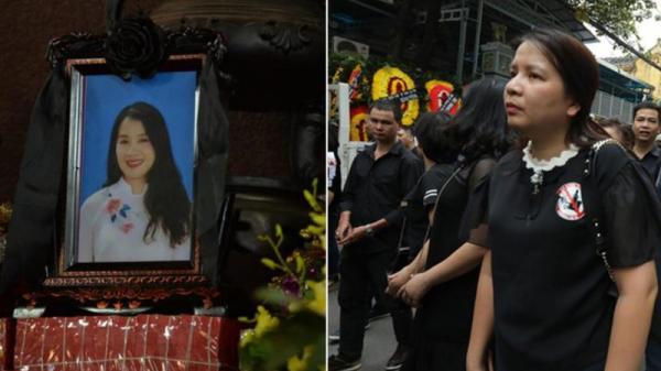 Nghệ sĩ Xuân Bắc và bạn bè, người thân b.ật khóc trong đám tang nữ n.ạn nh.ân bị xe Mercedes tông t.ử v.ong ở hầm Kim Liên