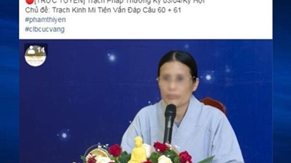 Sau thời gian ngắn bị phạt 5 triệu, bà Yến tái xuất thuyết giảng, vẫn có nhiều người ủng hộ?