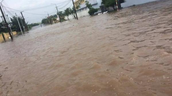 [Video]  Nam Định, Thái Bình nhiều điểm ngập sâu trong bão số 10