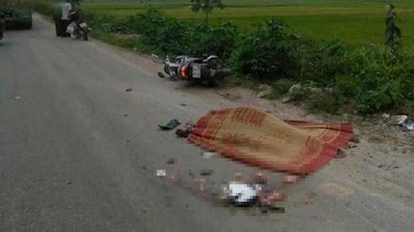 Th.ương tâm: M.ất lái ngã ra đường, người đàn ông bị xe container cán t.ử v.ong tại chỗ