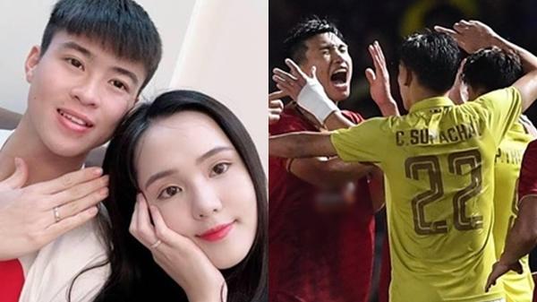Lây bệnh g.ắt từ bạn trai Duy Mạnh, Quỳnh Anh hành xử đậm chất 'gi.ang hồ' khi cầu thủ Thái Lan khiêu khích Văn Hậu