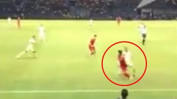 Gạt mọi hiềm khích, fan Thái Lan tung video tình huống lừa bóng đối thủ cực điệu nghệ của Quang Hải