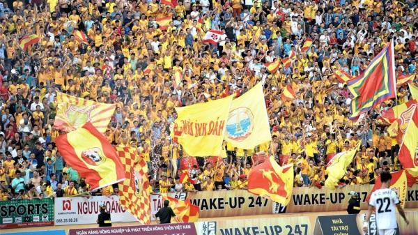 Nam Định: Sân Thiên Trường 'vô địch' lượng khán giả lượt đi V.League 2019