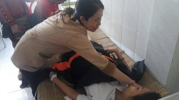 Thương tâm: Nữ sinh bị tai nạn nghiêm trọng trên đường đi thi THPT về