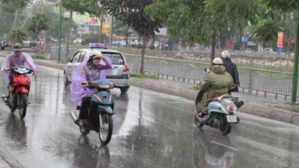 Thái Bình có mưa lớn trên diện rộng, cảnh báo lốc, sét